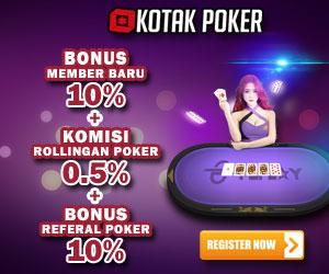 Kotakpoker poker terbesar di Indonesia